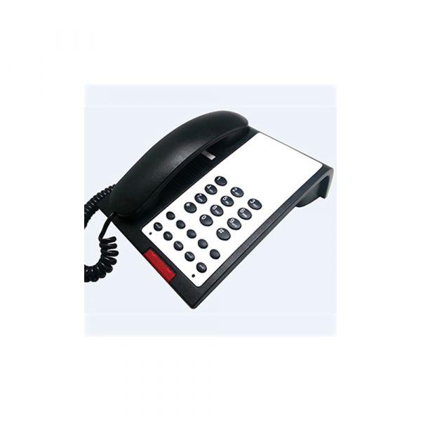 1 Line phone with Speaker Black