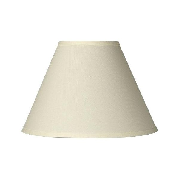 Large Plain Lamp Shade Beige
