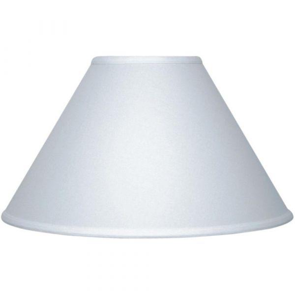 Large Plain Lamp Shade White