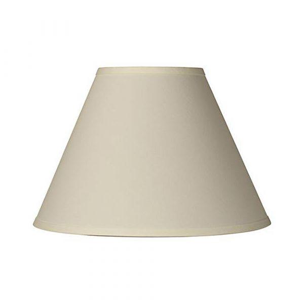 Small Plain Lamp Shade Beige