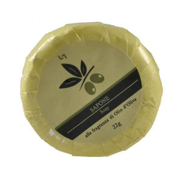 Olio d' Oliva 1.5 oz Round soap