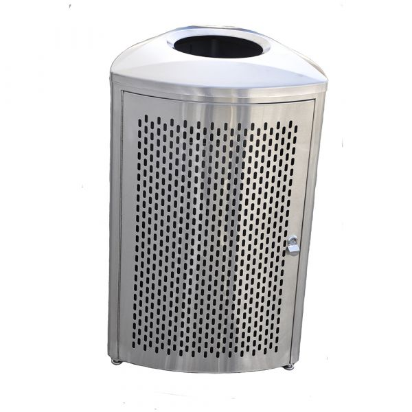 Stainles Trashcan HM Series:HM 9477 Triangle