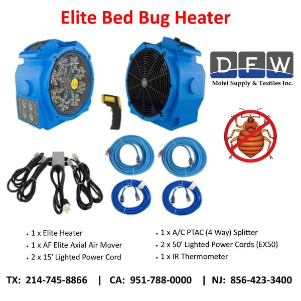 Bed Bug Heater Package