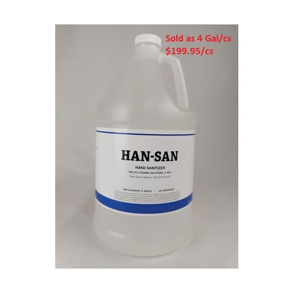 Han-San Hand Sanitizer 62% Alcohol