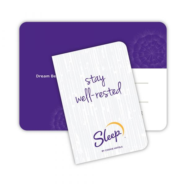 Sleep Inn Key Envelopes Purple
