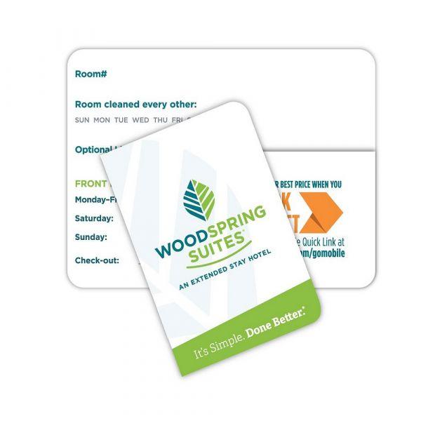 Woodspring Suites Envelope for Keycard