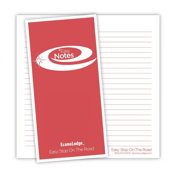 Econolodge Note pad