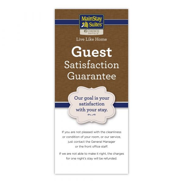 Mainstay Satisfaction Card S-SGC-MST-LH