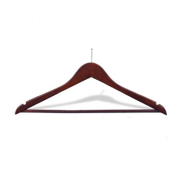 Mens Hanger Mahagony Balltop