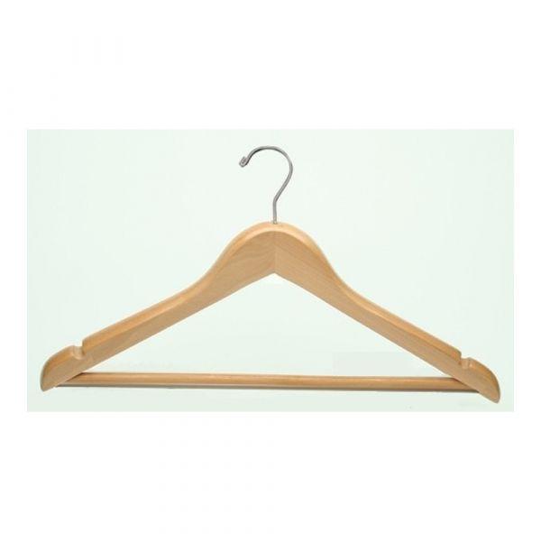 Mens Hanger Natural Openhook