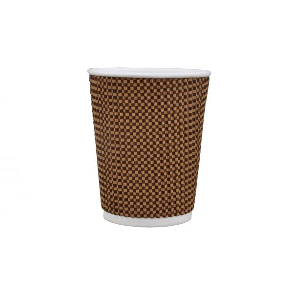 WX9 Double rippled Coffee Cup 9 oz by Pavy